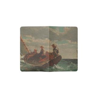 Breezing Up (A Fair Wind) by Winslow Homer Pocket Moleskine Notebook