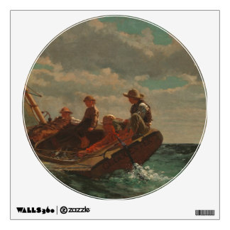 Breezing Up (A Fair Wind) by Winslow Homer Wall Decal