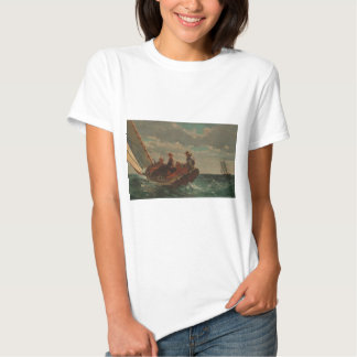 Breezing Up Winslow Homer T-shirt