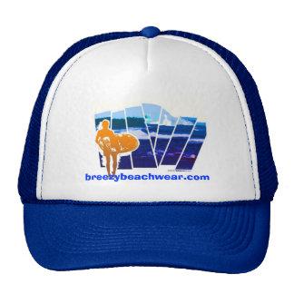 Breezy Beach Wear Lone Surfer Trucker Hat