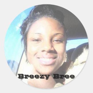 Breezy bree Custom stickers