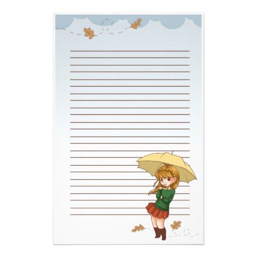 Breezy Day Stationary Stationery Paper