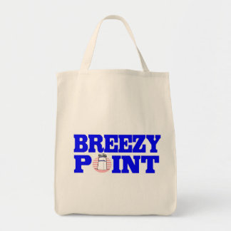 Breezy Point Grocery Tote in Pink