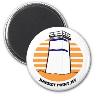 Breezy Point Lighthouse Fridge Magnet