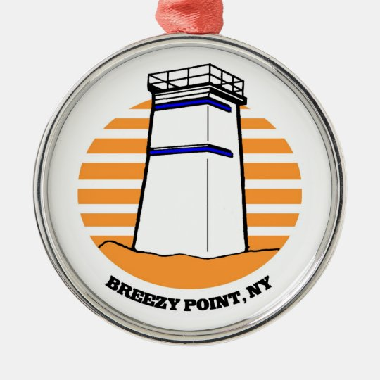 Breezy Point Lighthouse Ornament