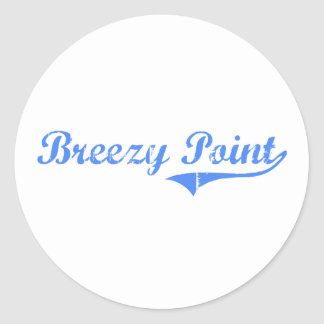 Breezy Point Maryland Classic Design Sticker