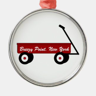 Breezy Point Wagon Ornament