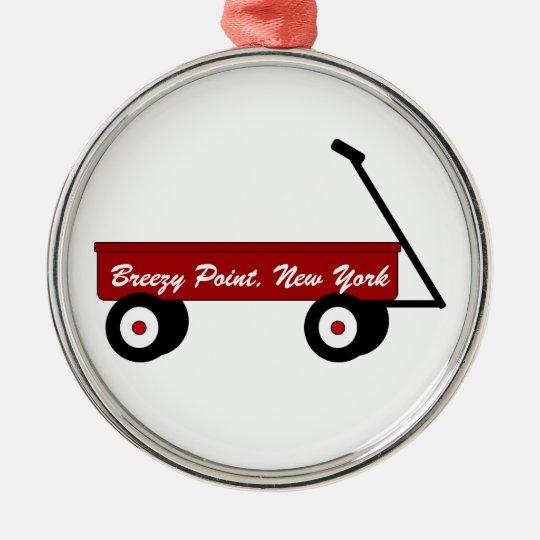 Breezy Point Wagon Ornament
