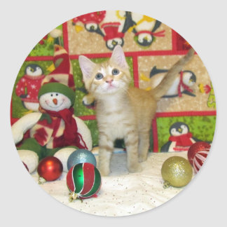 Breezy's Christmas Sticker