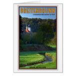 Breitenbrunn - Stream and Church Greeting Card