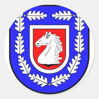 Breitenfelde Amt Wappen Classic Round Sticker