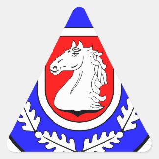 Breitenfelde Amt Wappen Triangle Sticker