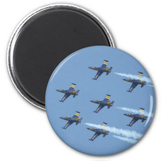 Breitling air squadron on airshow magnet