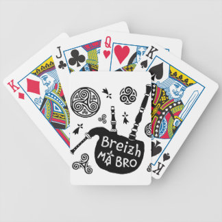 Breizh ma Bro Bicycle Playing Cards