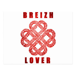 Breizh to coil Brittany Postcard