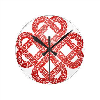 Breizh to coil Brittany Round Clock
