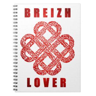Breizh to coil Brittany Spiral Notebook