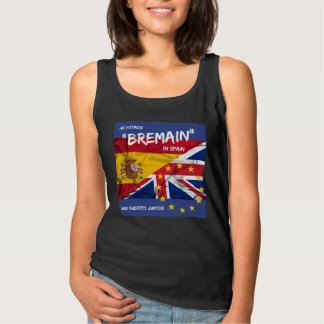 Bremain in Spain women's vest top