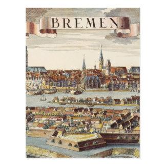Bremen, Alemania, 1719 Tarjeta Postal
