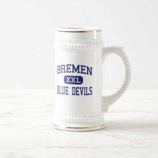 Bremen - Blue Devils - High - Bremen Georgia Mugs