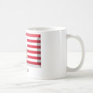 Bremen Flag Gem Coffee Mugs