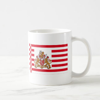 Bremen Flag with Greater Arms Coffee Mug