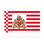 Bremen Flag with Greater Arms Post Cards