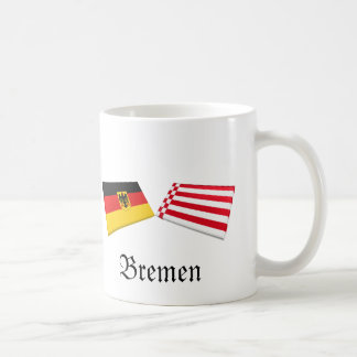Bremen, Germany Flag Tiles Mug