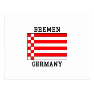 Bremen Germany Postcard