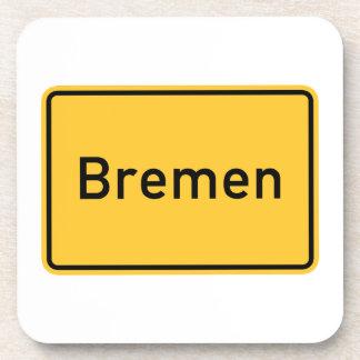Bremen, Germany Road Sign Coaster