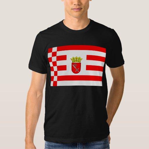 Bremen (Middle Arms), Georgia flag T-shirt