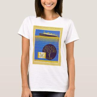 Bremen - NewYork in der 1st Classe T-Shirt