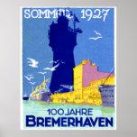 Bremerhaven 1927 Alemania Posters