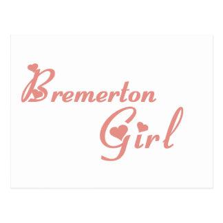 Bremerton Girl tee shirts Post Card