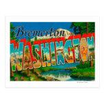 Bremerton, Washington - escenas grandes de la Tarjeta Postal
