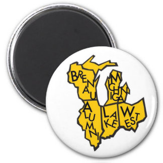 Brenau Alumni Nest- Lake Michigan West Magnet