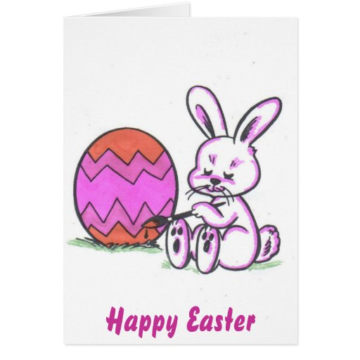 Brenda Bunny Greeting Card