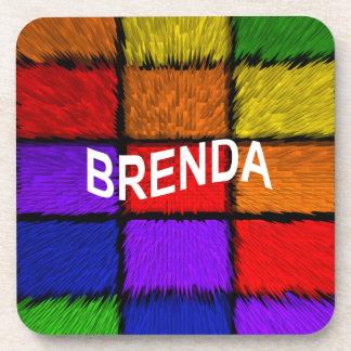 BRENDA ( female names ) Beverage Coaster