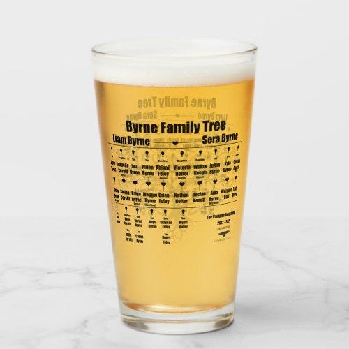 Brenda K Davies Vampire Awakenings Family Tree Glass