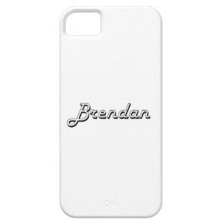 Brendan Classic Retro Name Design iPhone 5 Covers