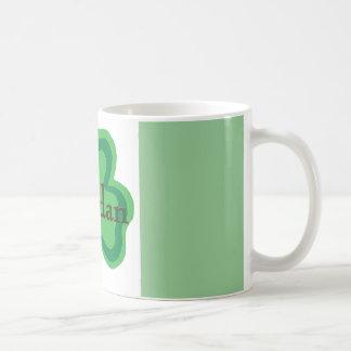 Brendan Irish Classic White Coffee Mug