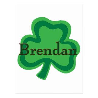 Brendan Irish Postcard