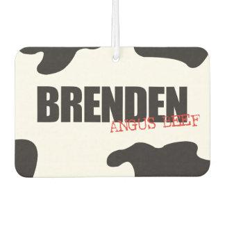 """Brenden """"Angus Beef"""" Trendy Air Freshener"""