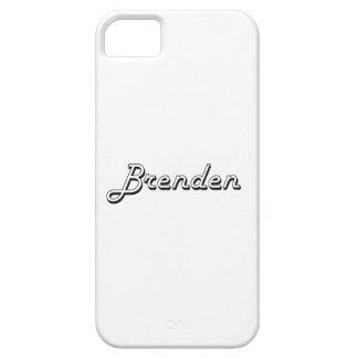 Brenden Classic Retro Name Design iPhone 5 Cover