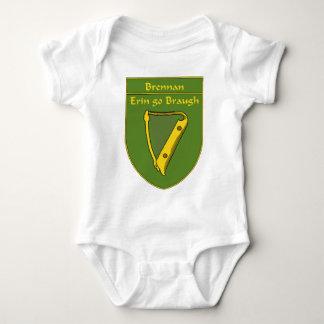 Brennan 1798 Flag Shield Baby Bodysuit