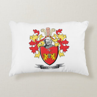 Brennan Coat of Arms Accent Pillow
