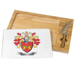 Brennan Coat of Arms Cheese Platter