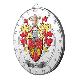 Brennan Coat of Arms Dartboards