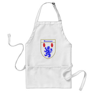 Brennan Coat of Arms/Family Crest Adult Apron