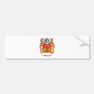 Brennan Coat of Arms (Family Crest) Car Bumper Sticker